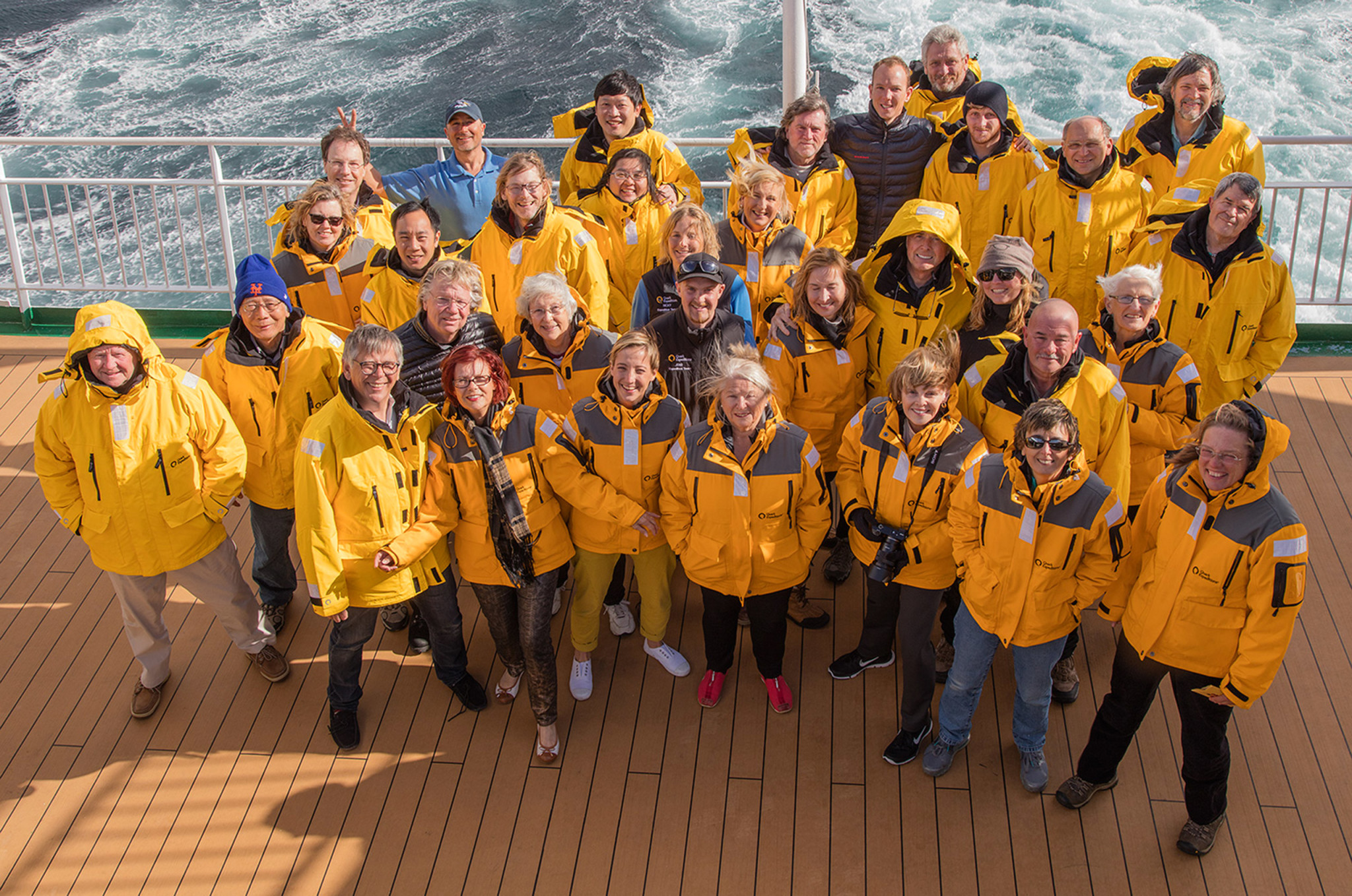 Participants in Antarctic Photography Workshop 2016