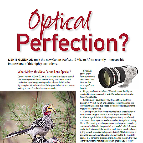 Canon 30mm F2.8 Mk II Lens - Optical Perfection?