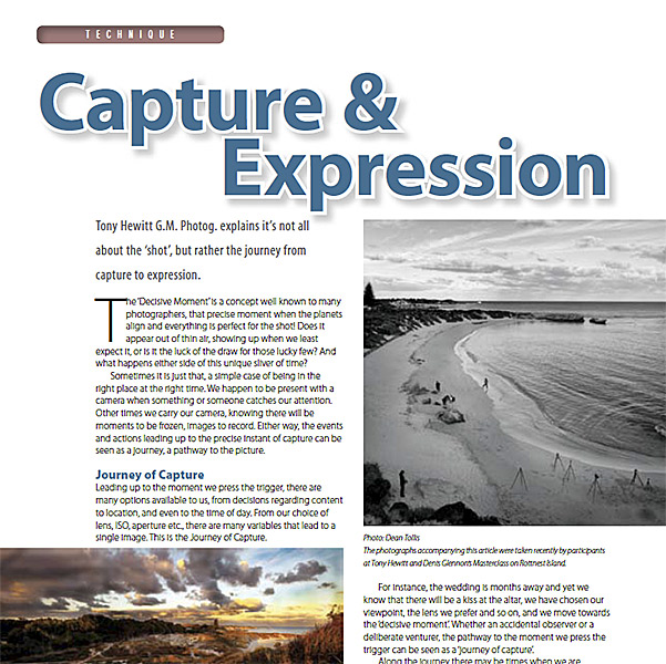 Capture & Expression by Tony Hewitt