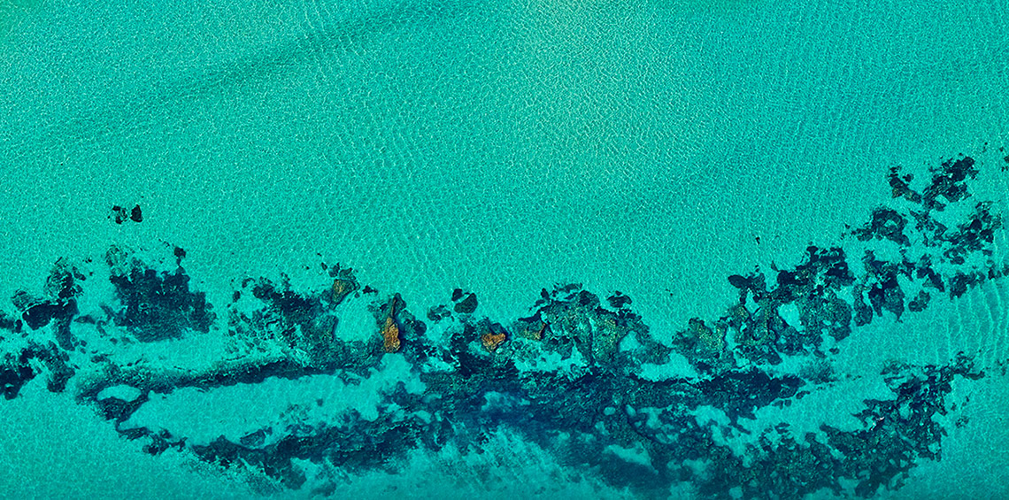 Kingston Reef, Rottnest Island - Art Revealed From Above