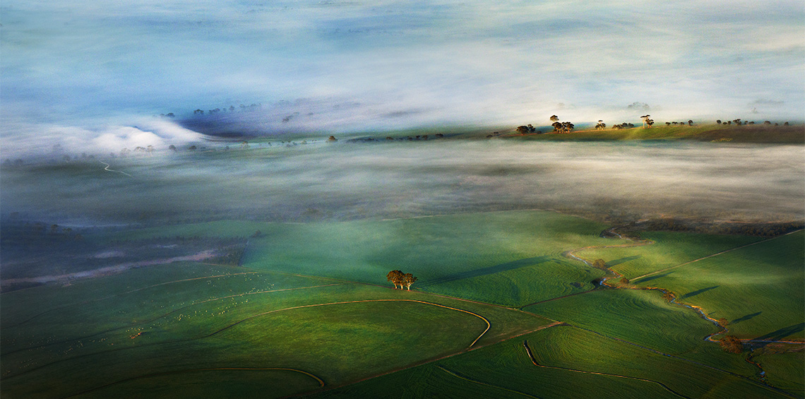 <em>Avon Valley from Above</em> by Tony Hewitt