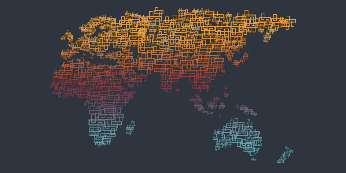 Tours 1 - World Map